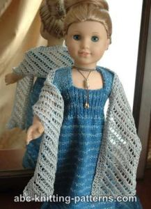 American Girl Doll Lace Wrap