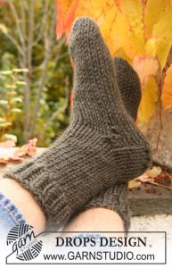 Socks in Stockinette