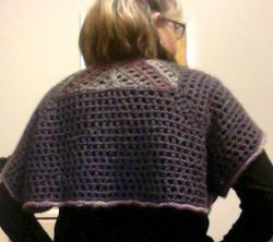 Triangles Shawl - With Buttons
