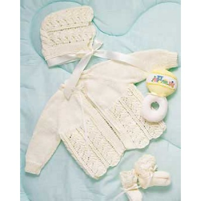 Knitting Patterns Galore Baby Layette