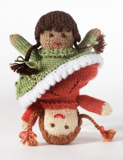 Knitting Patterns Galore Topsy Turvy Doll