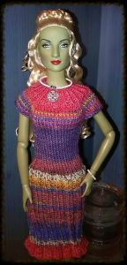 T-Shirt Dress for Tonner and other 16 inch dolls