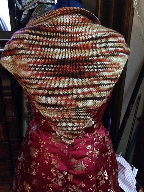 Knitting Patterns Galore Simple Shawl With Basic Border