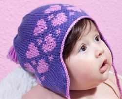 Hearts Winter Hat