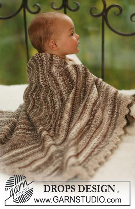 Knitting Patterns Galore - DROPS blanket