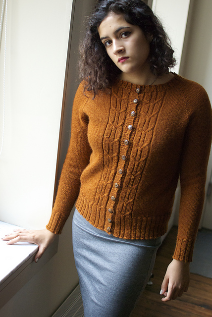Knitting Patterns Galore Minetta Cardigan