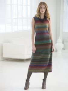 Shapely Striped Maxi Dress