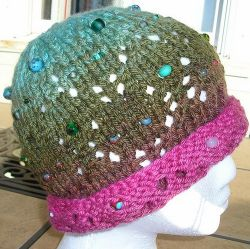 Beaded Floozy Hat