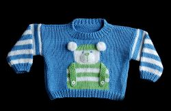Children's Bear Sweater
