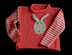 Children's Bunny Sweater