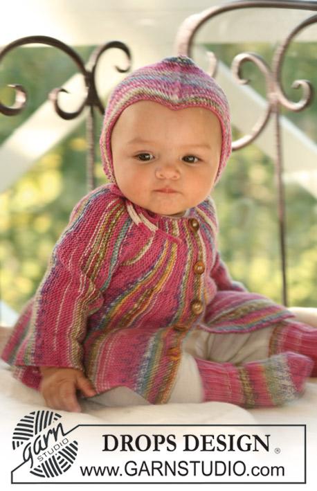 Knitting Patterns Galore Drops Jacket Socks And Hat