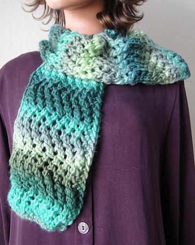 Knitting Patterns Galore Lace Zig Zag Scarf