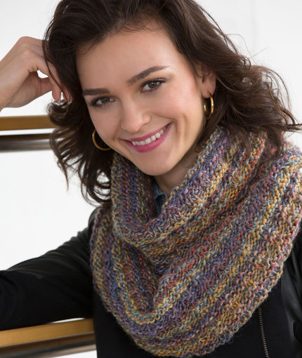Knitting Patterns Galore Easy Gift Cowl