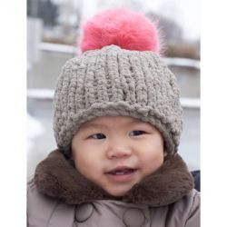 Big Stitch Baby Hat