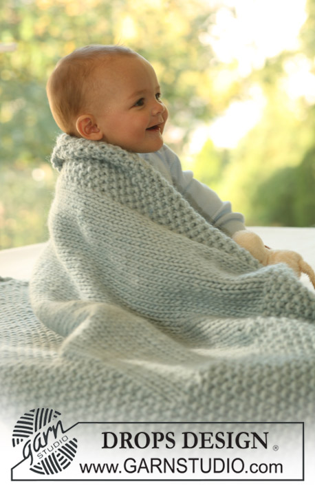Knitting Patterns Galore - DROPS blanket