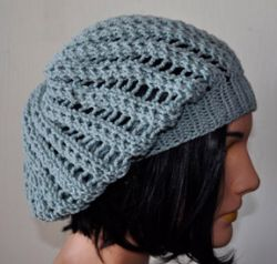Lacy Slouch Hat