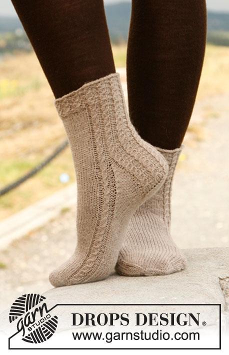 Knitting Patterns Galore Drops Socks