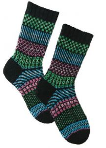Simple Stripes Fair Isle Socks