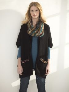 Easy Rectangle Cardigan And Cowl