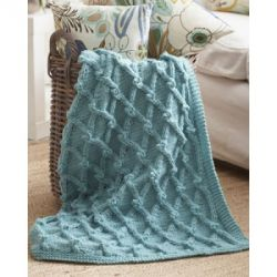 Bobble Lattice Blanket