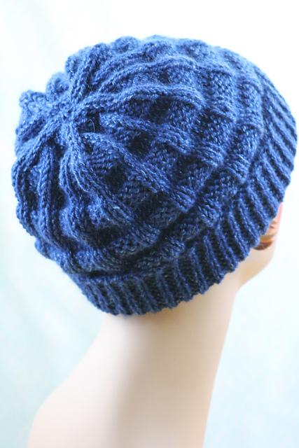 Knitting Patterns Galore Belt Welt Hat