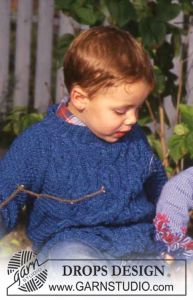 Boy's Cable Sweater