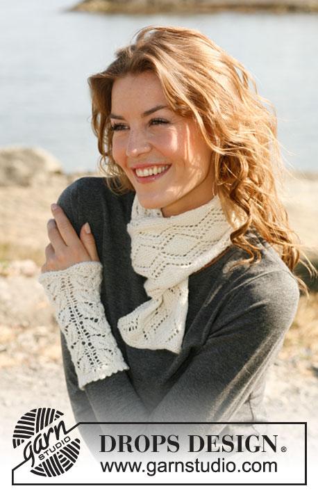 Knitting Patterns Galore Trailing Leaves