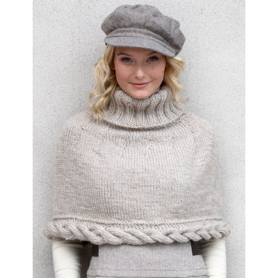 Knitting Patterns Galore Cable Capelet