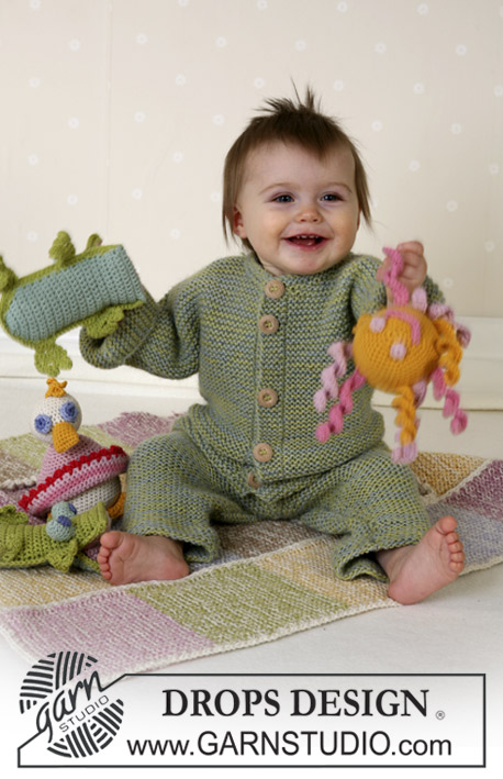 Knitting Patterns Galore Baby : Knitting Patterns Galore - Drops Baby Jumpsuit