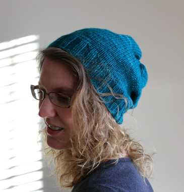 Knitting Patterns Galore Effortless Slouch Hat