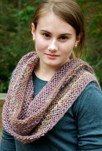 Long Ways Garter Cowl