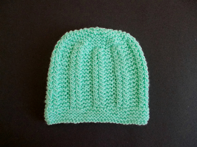 Knitting Patterns Galore Hats : Knitting Patterns Galore - Nina Baby Hat