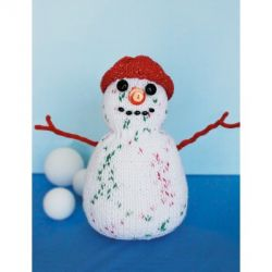 Snowman to Knit