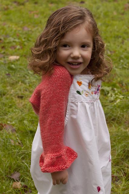 Knitting Patterns Galore Sparkle Shrug