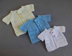 Little Jay - Premature Baby Cardigans