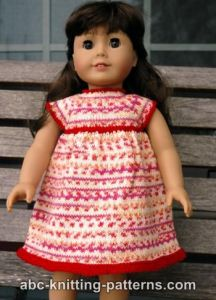 American Girl Doll Carolina Summer Dress
