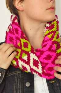 Neon Diamond Cowl