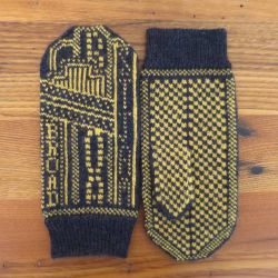 Lights on Broadway Mittens