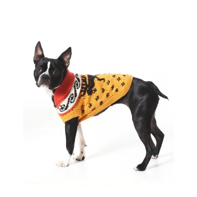 Knitting Patterns Galore Cowichan Style Dog Coat