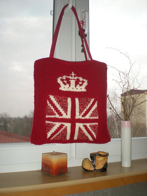 Knitting Patterns Galore Union Jack Purse