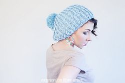 Slouchy Fisherman's Rib Hat