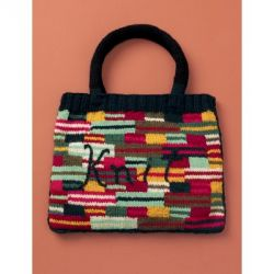 "Crazy Stripes ""Knit"" Bag"