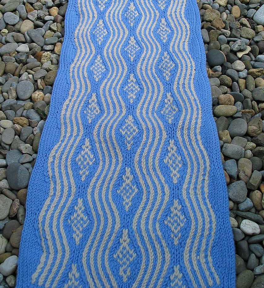 Knitting Patterns Galore Fair Isle Rapids