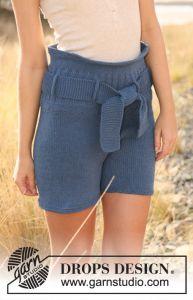 Knitting Patterns Galore - DROPS shorts