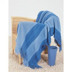 Shades of Blue Blanket
