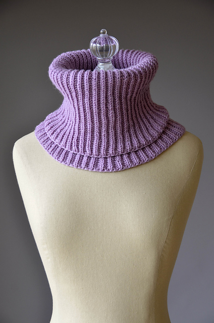 Knitting Patterns Galore - Cozy Snood