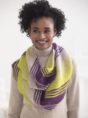 Knitting Patterns Galore - Loop Scarf