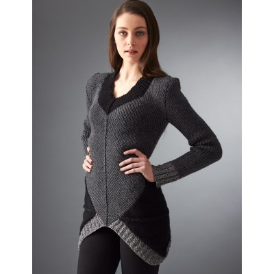 Knitting Patterns Galore District 12 Sweater
