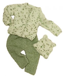 Granny Smith Sweater, Pants and Hat