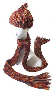 Roxanne Scarf and Hat